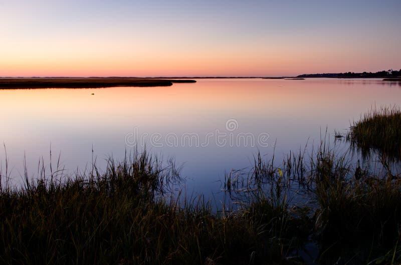 Cape Cod Dawn royalty-vrije stock afbeelding