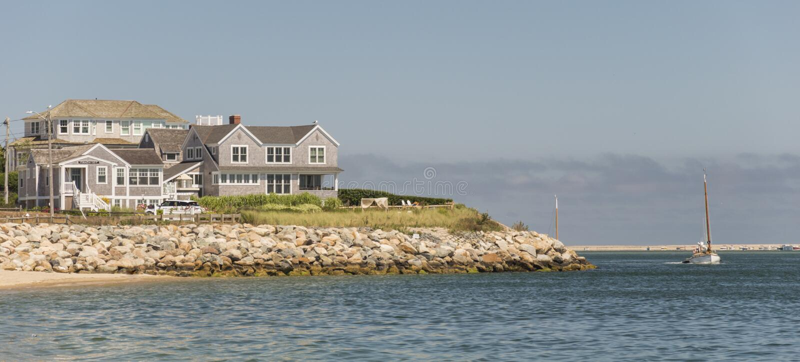Cape Cod dom fotografia stock