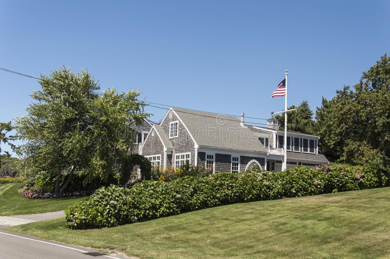 Cape Cod-Huis royalty-vrije stock foto's