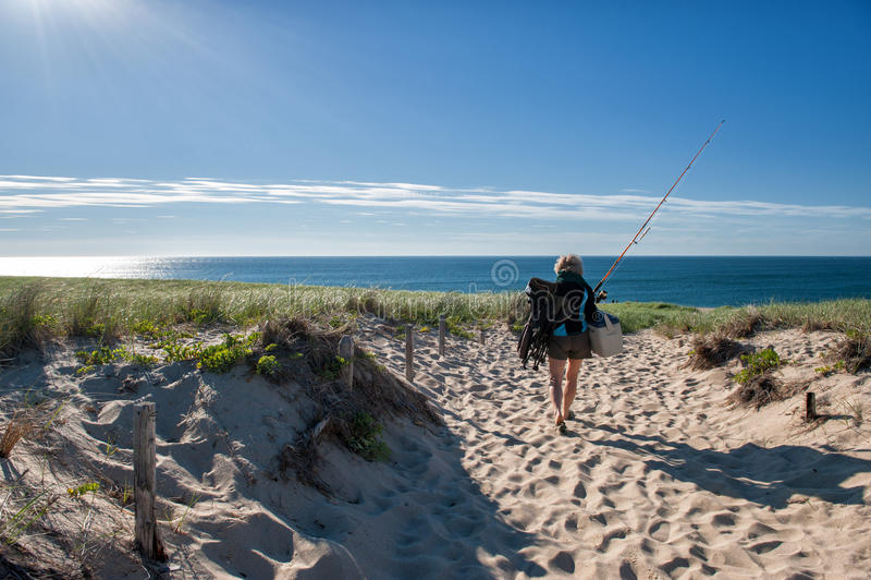 Vacaciones de verano en Cape Cod imagen de archivo libre de regalías