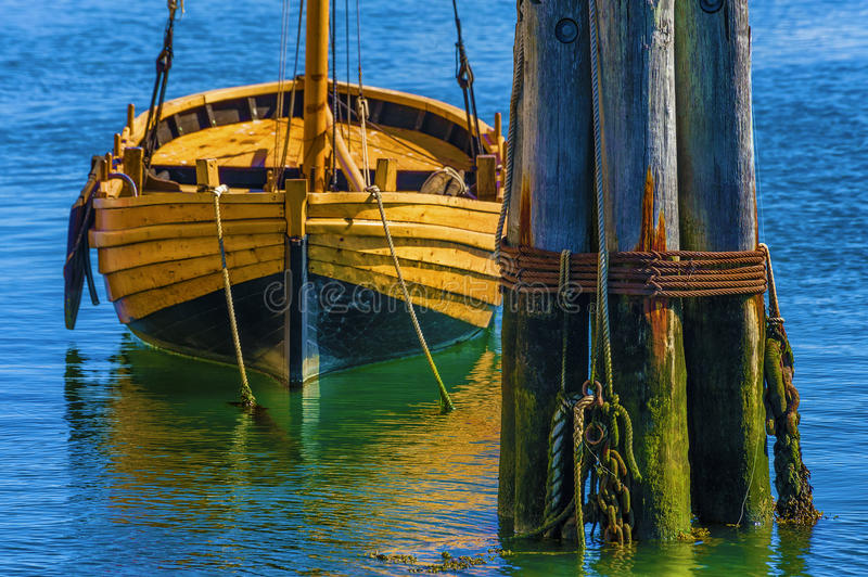 Cape Cod Mayflower II Dinghie royalty free stock photos