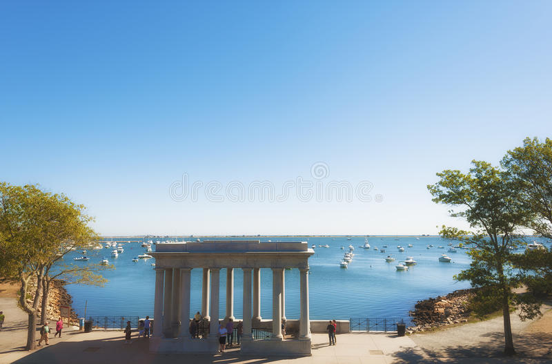 Cape Cod Plymouth Rock imagem de stock