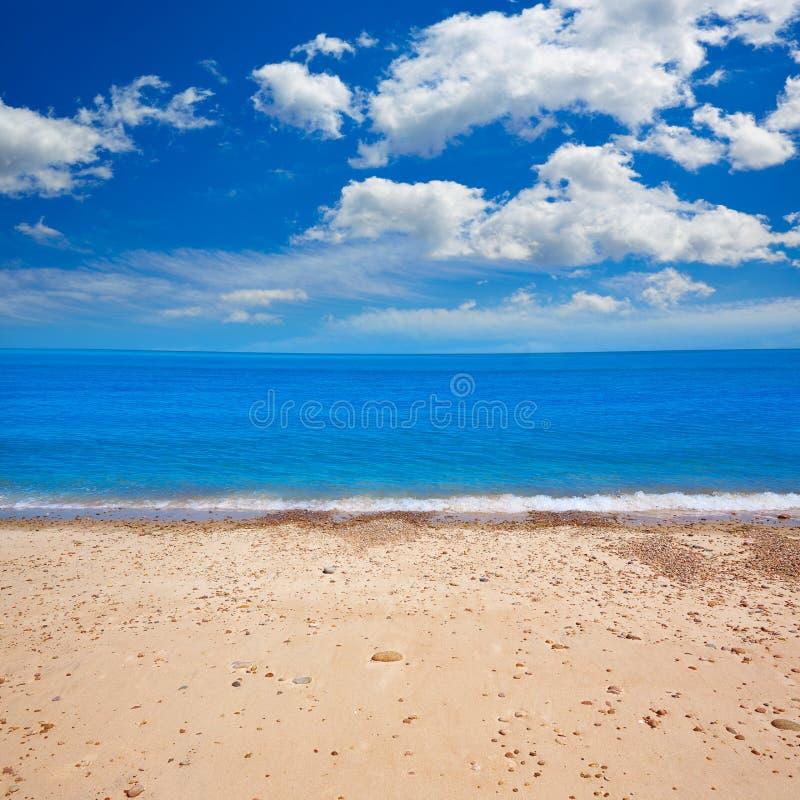 Cape Cod Sandy Neck Beach Massachusetts de V.S. stock afbeelding