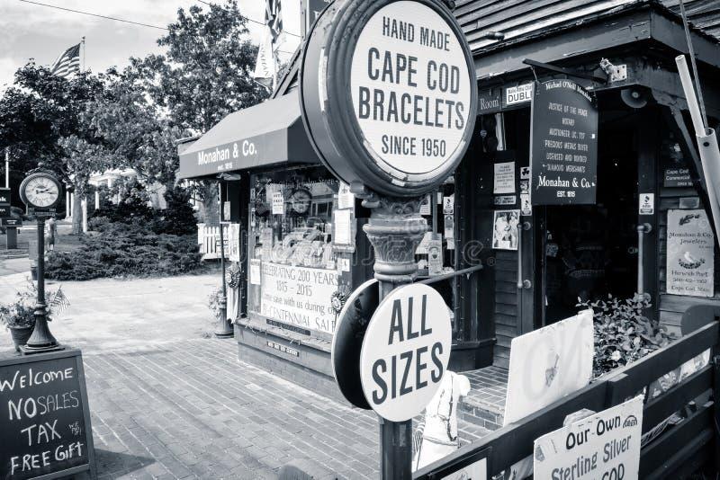 Cape Cod sklep obrazy stock