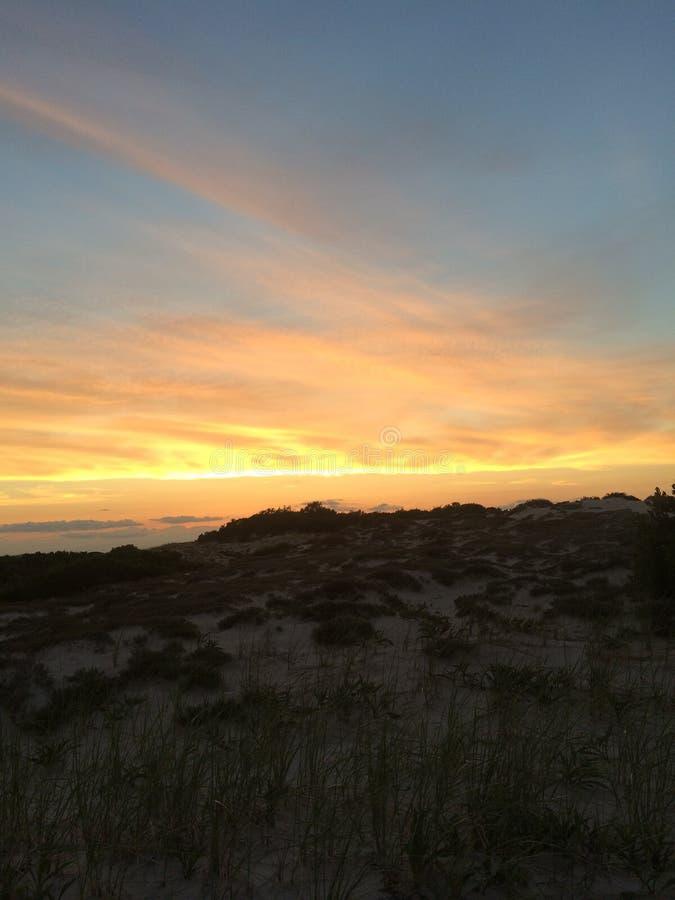 Cape Cod zmierzch obrazy stock