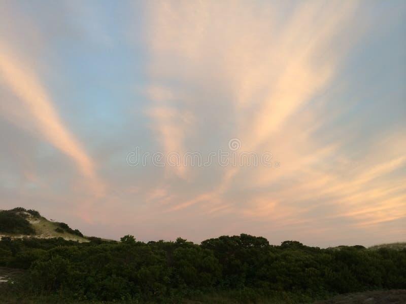 Cape Cod zmierzch fotografia royalty free
