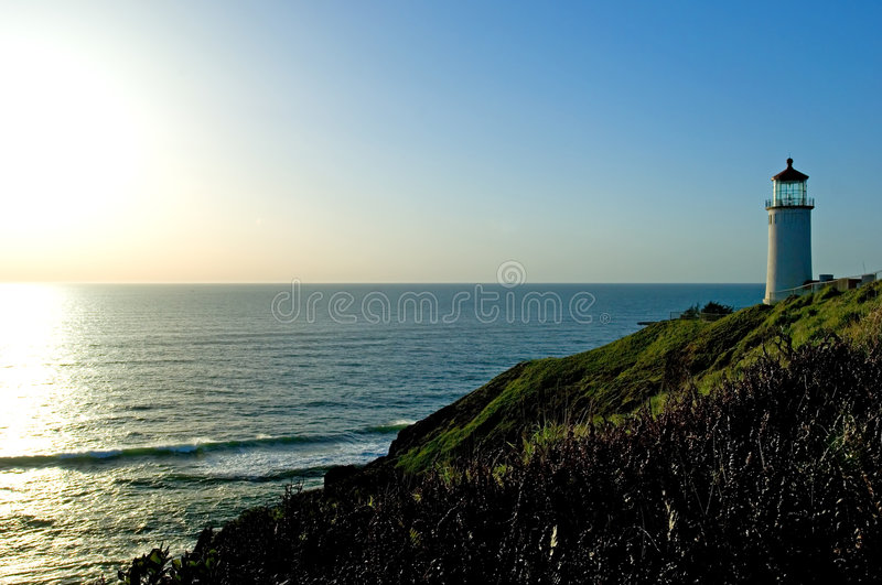 Cape Disappointment stock photography