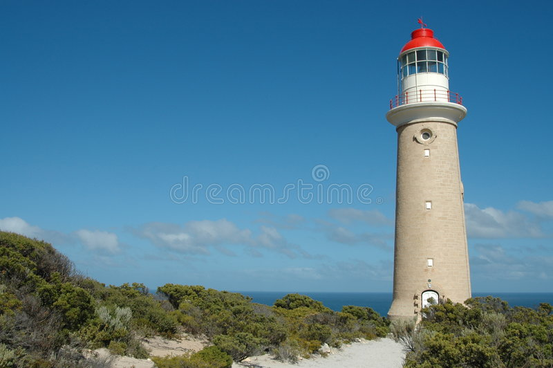 Cape du Couedic Lighthouse photo libre de droits