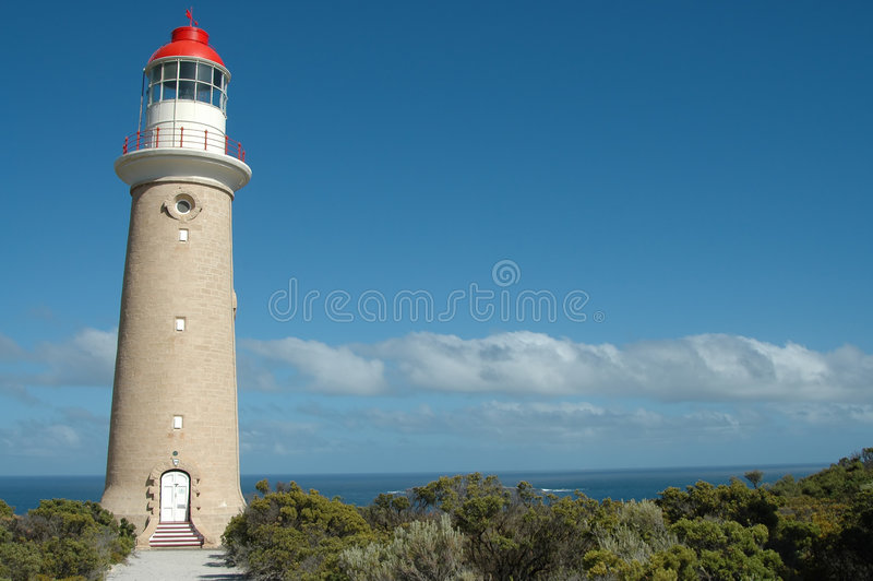 Download Cape du Couedic Lighthouse stock image. Image of arch, blue - 178535