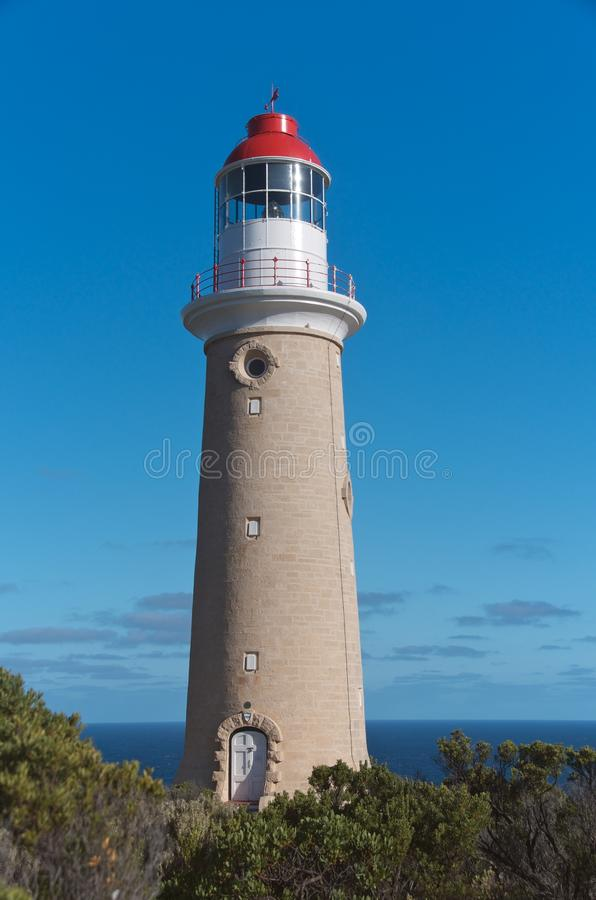 Lighthouse Natural Stone : Cape du couedic lighthouse stock photo image