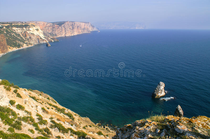 Cape Fiolent royalty free stock image