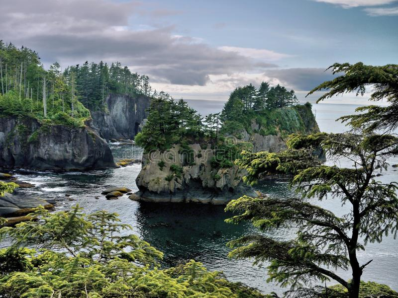 Cape Flattery royalty free stock images
