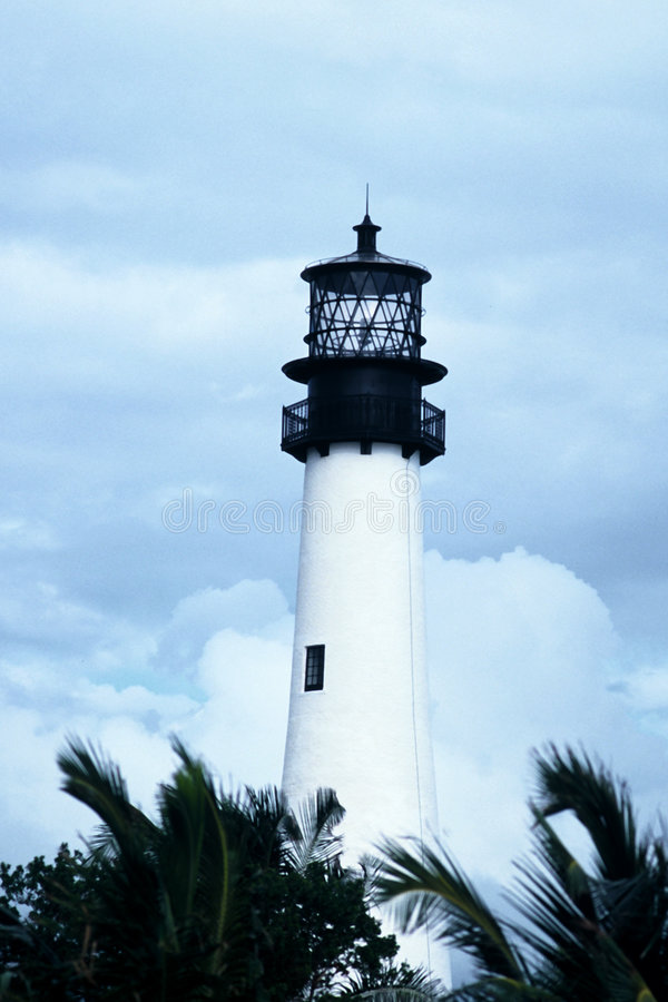 Download Cape Florida Lighthouse stock image. Image of historic, lighthouse - 39823