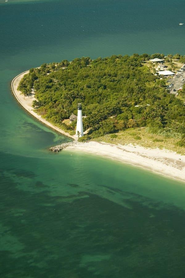 Cape Florida Light stock images