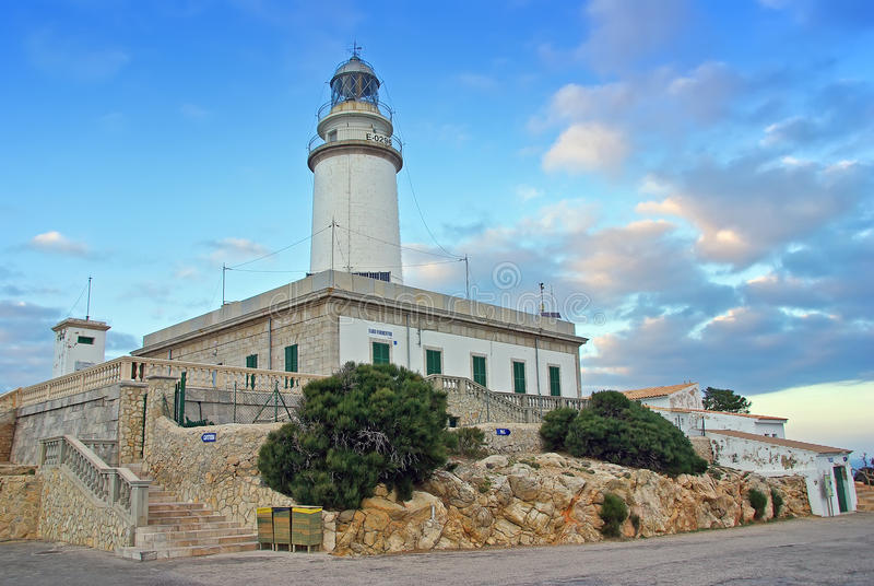 Cape Formentor Lighthouse stock photo