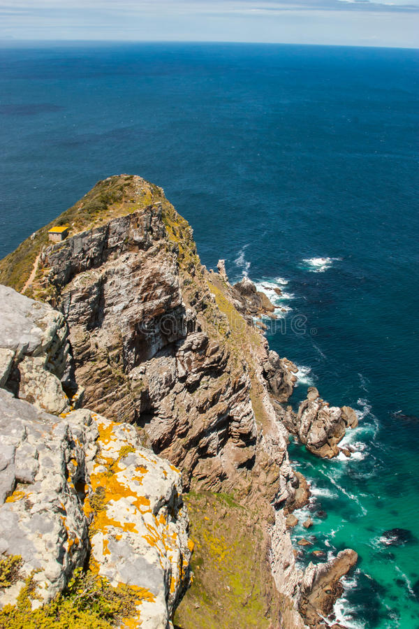 Cape Of Good Hope. Cape Peninsula Atlantic Ocean. Cape Town. South Africa Stock Photography