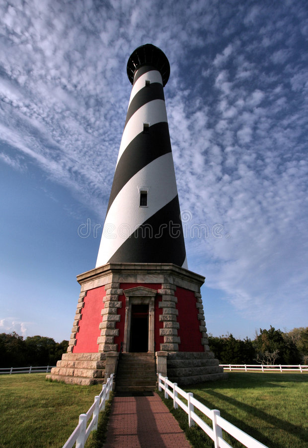 Download Cape Hatteras Light stock photo. Image of path, house - 9253366