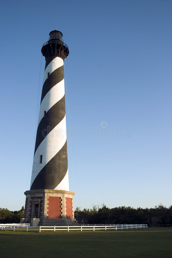 Cape Hatteras Lighthouse royalty free stock image