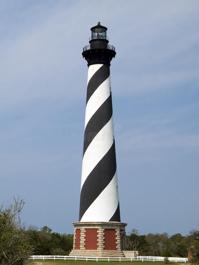 Cape Hatteras Lighthouse, Outer Banks, NC stock photos