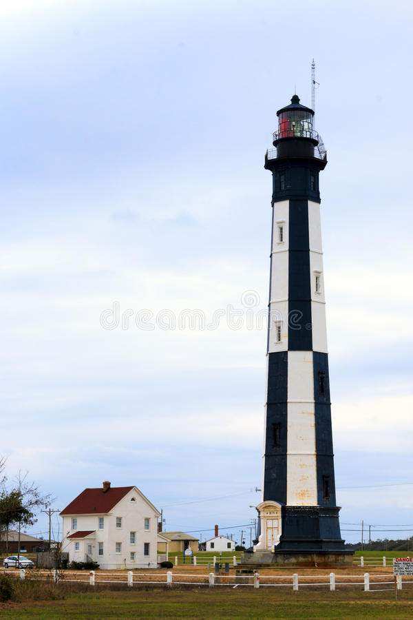 Cape Henry Lighthouse royalty free stock photos