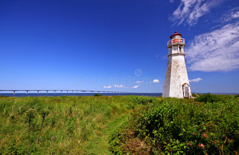 Cape Jouriman Light royalty free stock image