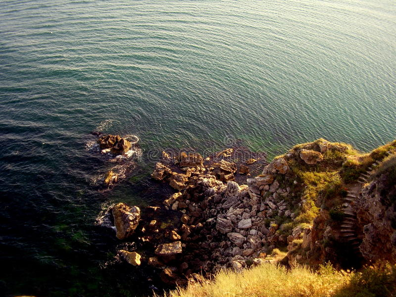 Cape Kaliakra in Bulgaria royalty free stock images