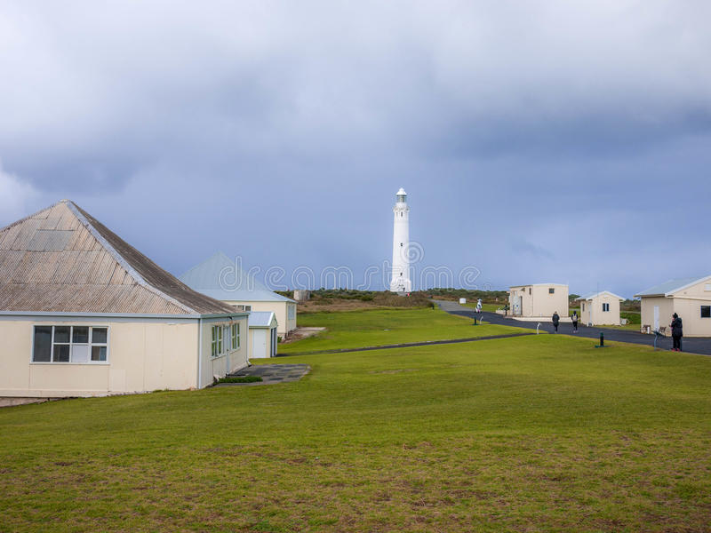 Cape Leeuwin Lighthouse. Augusta Western Australia wa royalty free stock photography