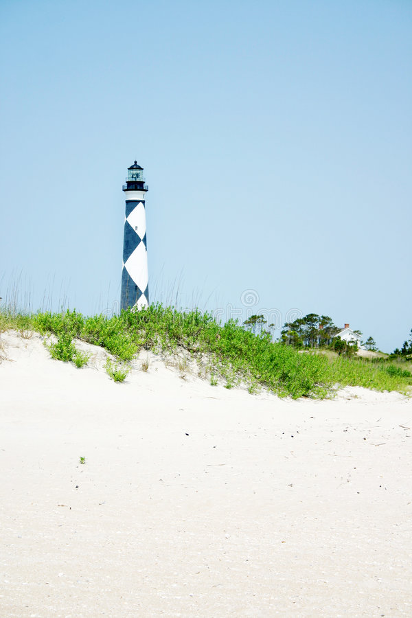 Download Cape Lookout Light House stock image. Image of waves, ocean - 5419785