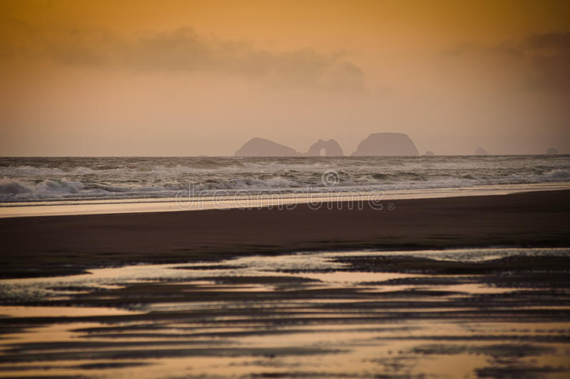 Cape Lookout view at the haze royalty free stock image