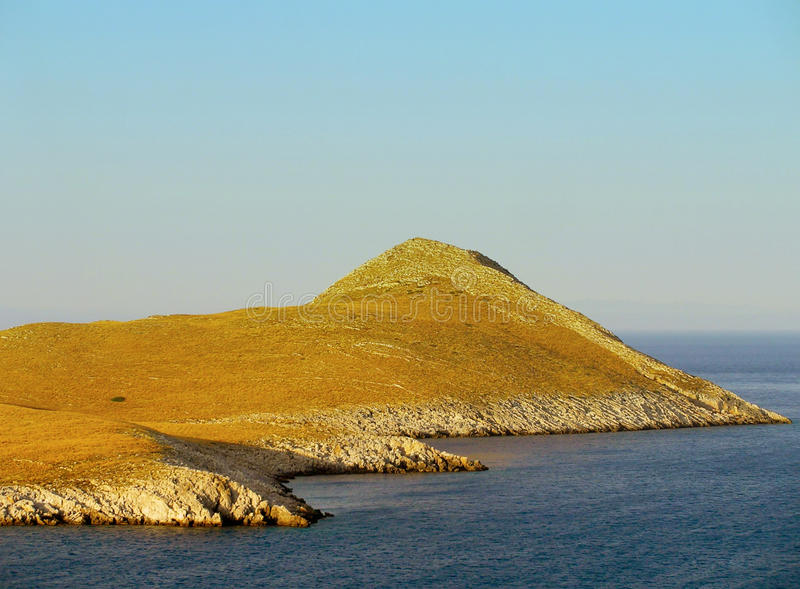 Cape Matapan, Greece. Cape Metalan in Greece, the southernmost point of Europe royalty free stock images