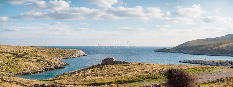 Cape Matapan in Mani, Laconia, Peloponnese, Greece. Cape Matapan or Tainaron in Mani, Lakonia, Peloponnese, Greece stock image