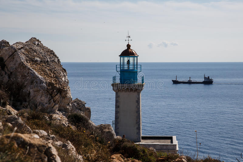 Cape Matapan. Mani Peninsula, Greece stock photo