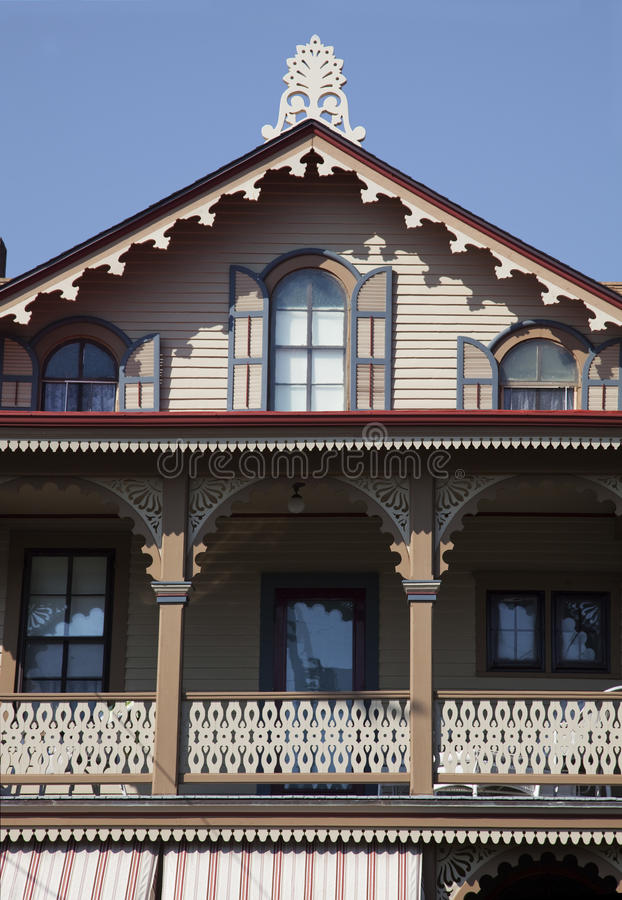New Jersey Victorian home stock photography