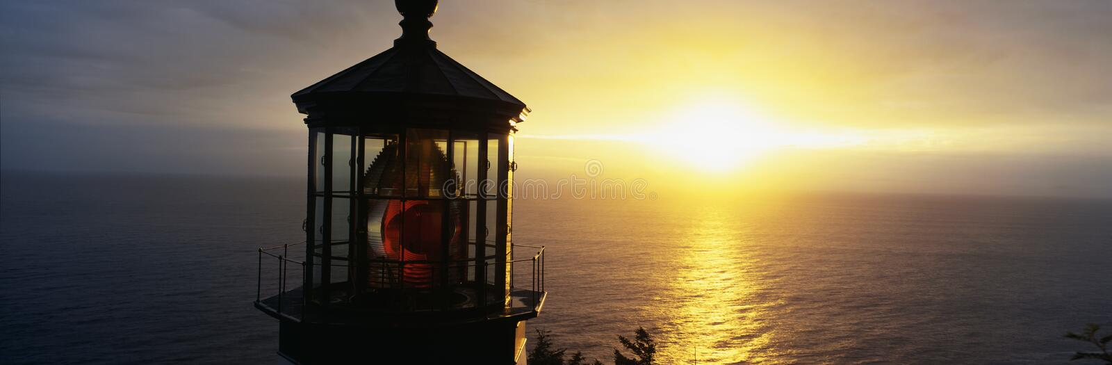 Cape Meares Lighthouse royalty free stock images