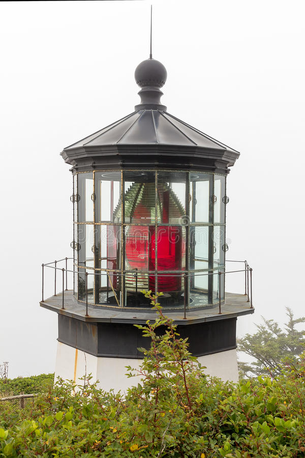 Free Cape Meares Lighthouse Fresnel Lens Royalty Free Stock Image - 75318026