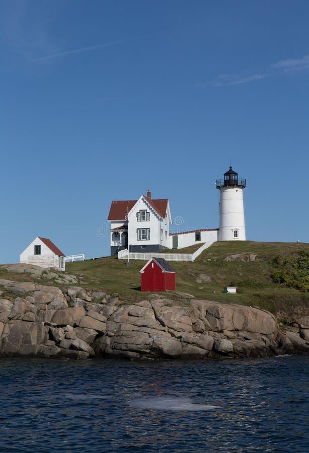 Cape Neddick Lighthouse royalty free stock photos