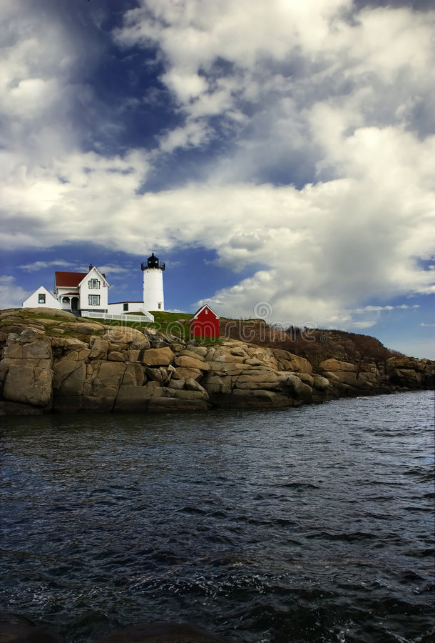 Cape Neddick, Maine stock photography