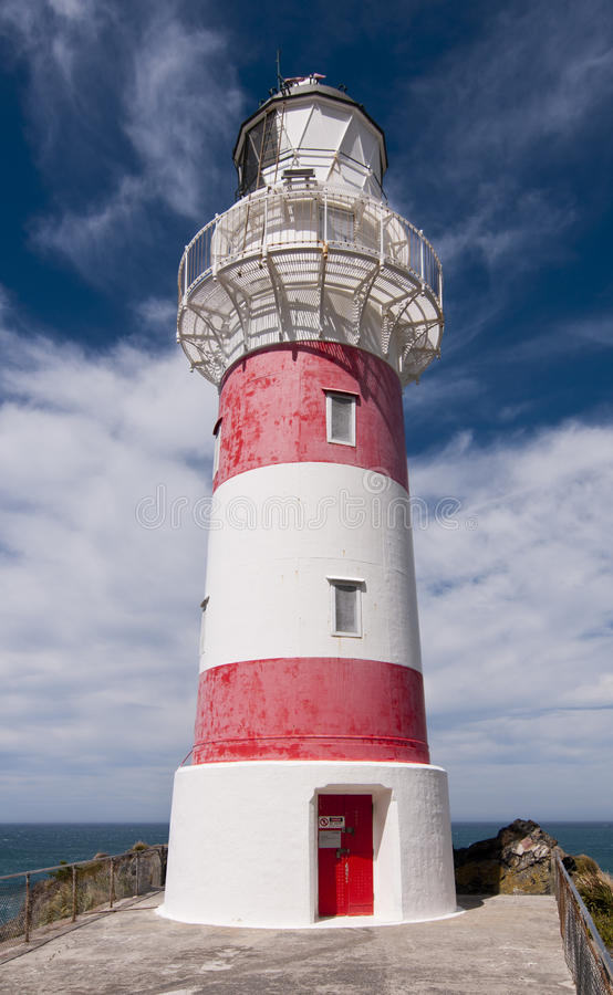 Download Cape Palliser Lighthouse stock photo. Image of north - 23765848