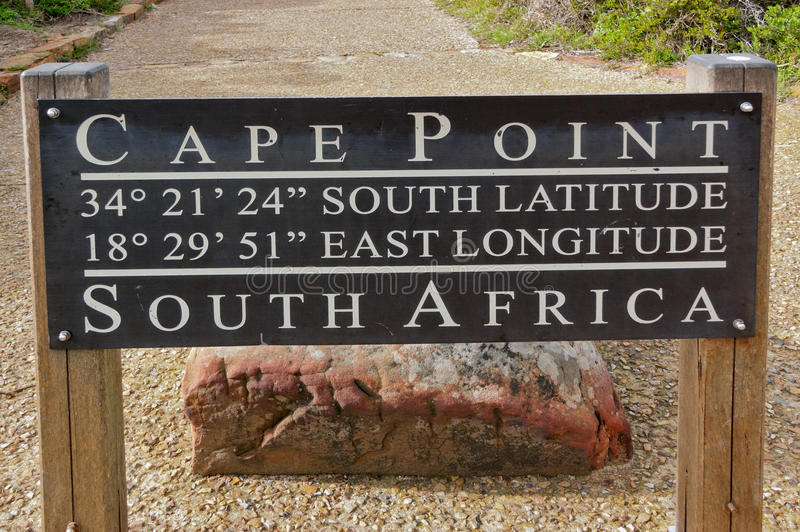 Cape Point sign royalty free stock photos