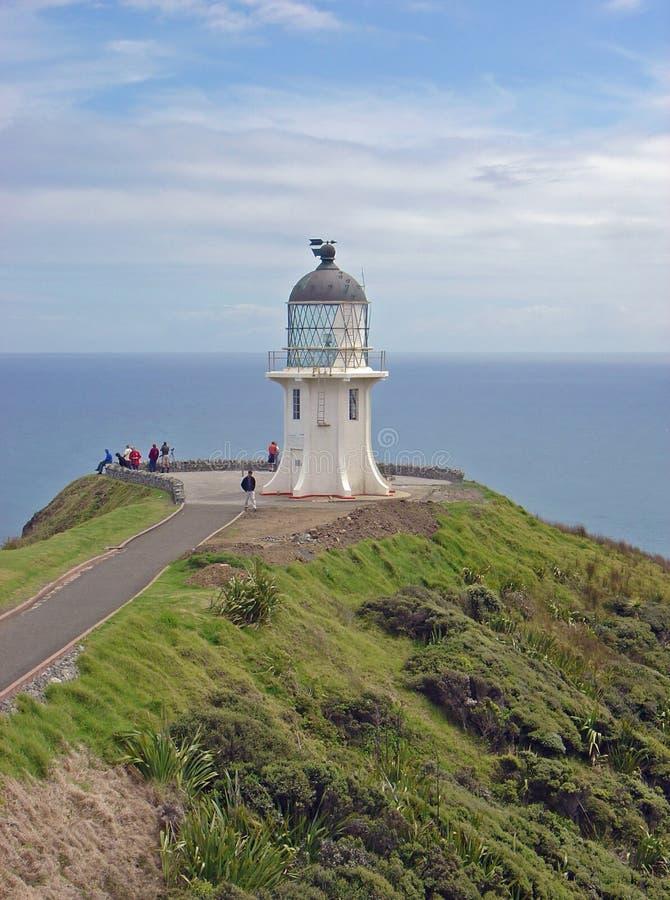 Cape Reinga Lighthouse Royalty Free Stock Photo