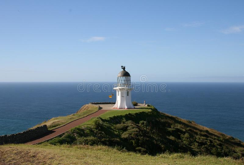 Download Cape Reinga Lighthouse stock photo. Image of light, surf - 9396132