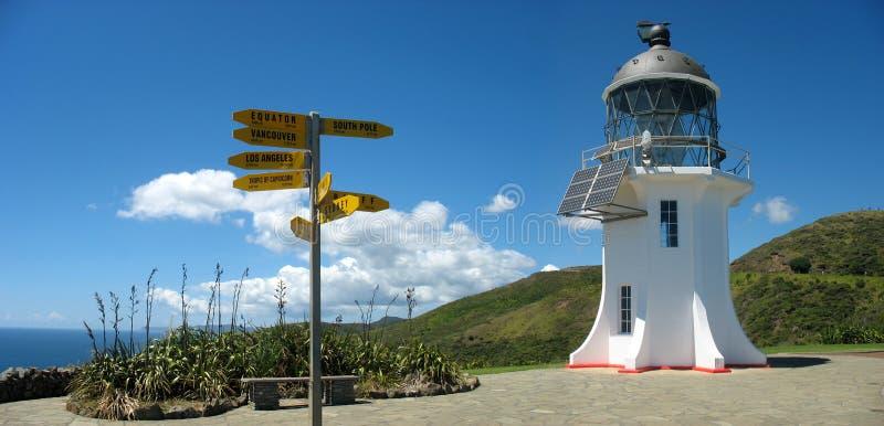 Cape Reinga Lighthouse. Northland New Zealand stock images