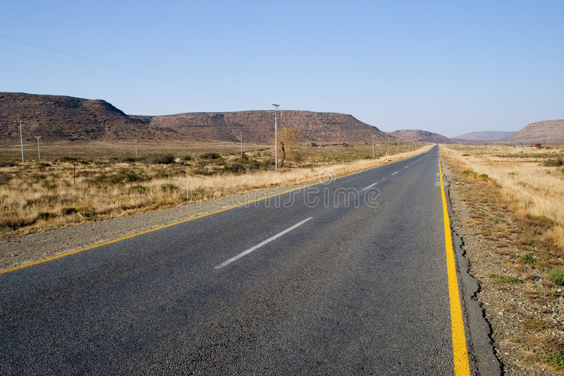 Download Cape roads #2 stock photo. Image of blue, yellow, signs - 192298