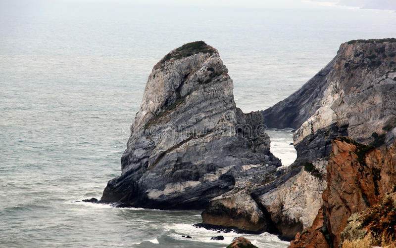 Cape Rock royalty free stock photos