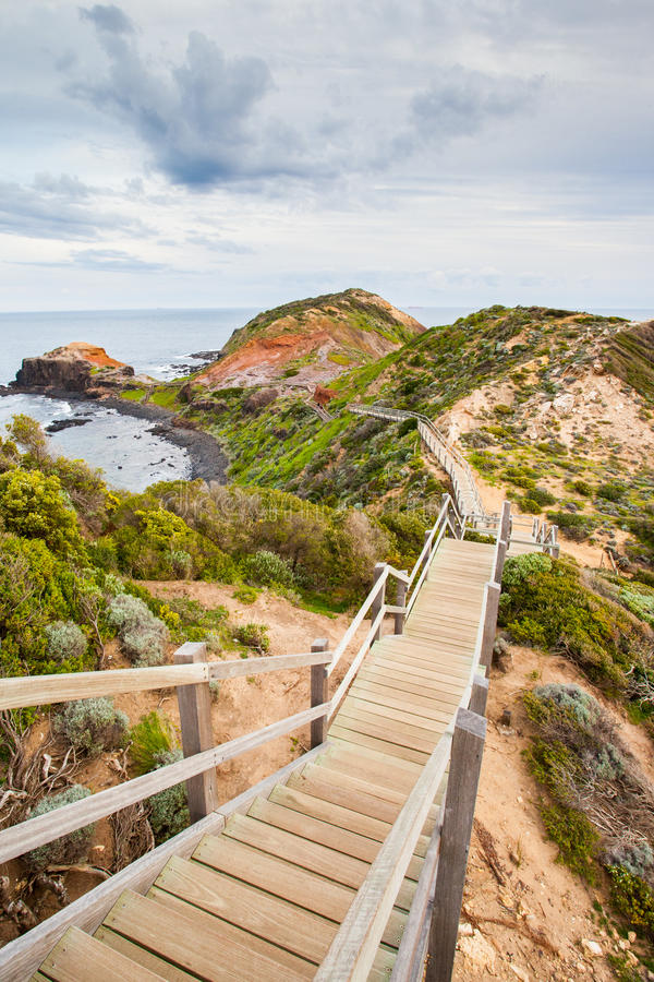 Free Cape Schanck Boardwalk Royalty Free Stock Photography - 33769787