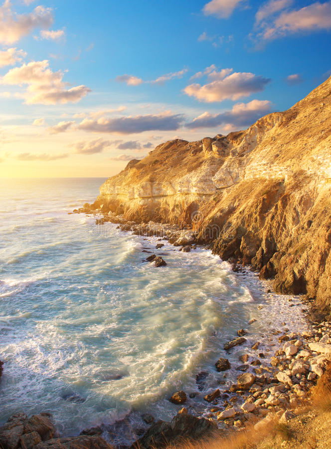 Download Cape and sky stock photo. Image of coastline, colorful - 24982448