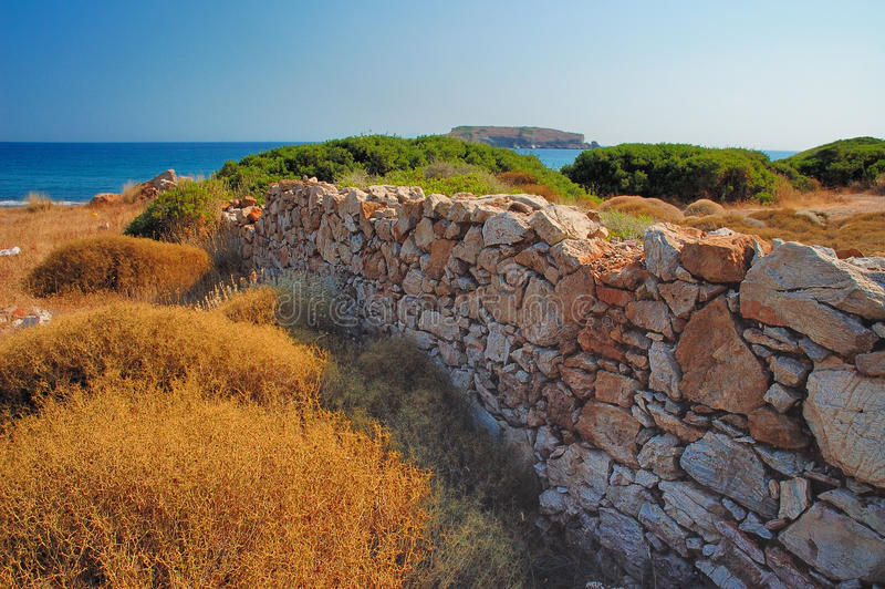Download Cape Sounion stock photo. Image of trip, cape, ruins - 25564938
