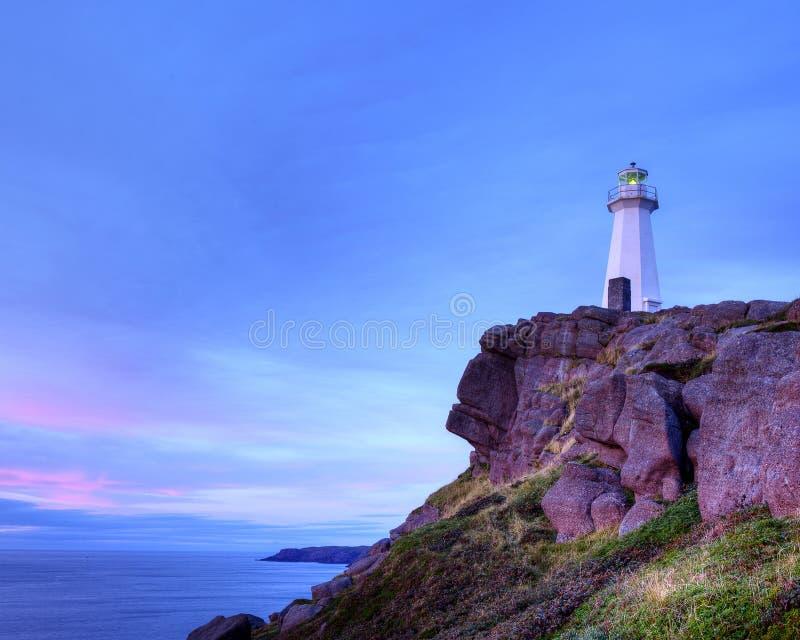Cape Spear lighthouse royalty free stock photos