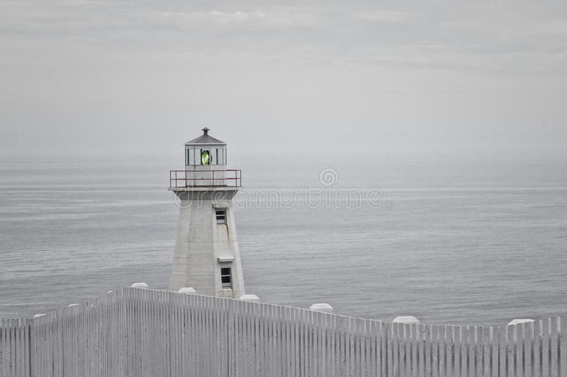 Download Cape Spear lighthouse stock photo. Image of east, north - 34728734