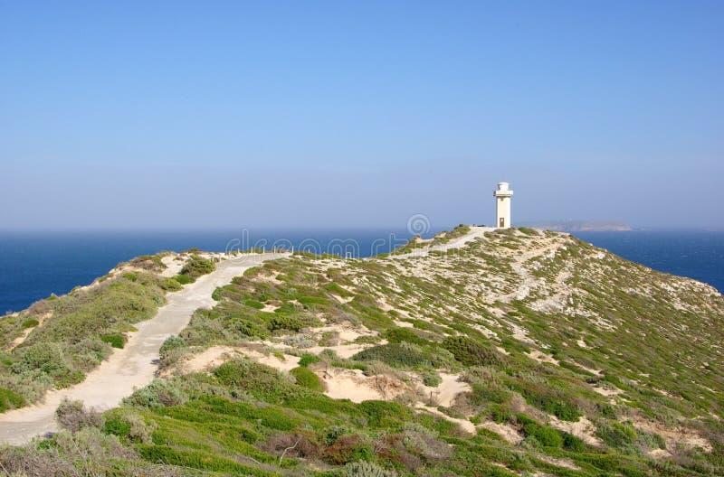 Download Cape Spencer Lighthouse stock image. Image of summit, australia - 5880155